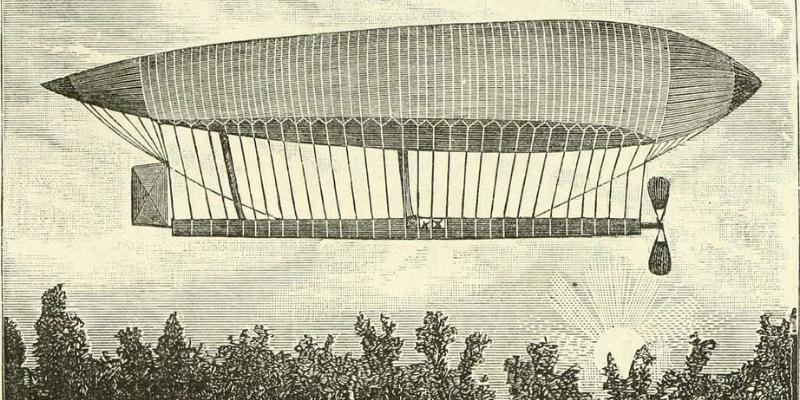 steampunk dirigibles